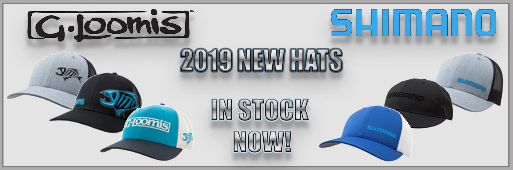 New 2019 G. Loomis & Shimano Hats
