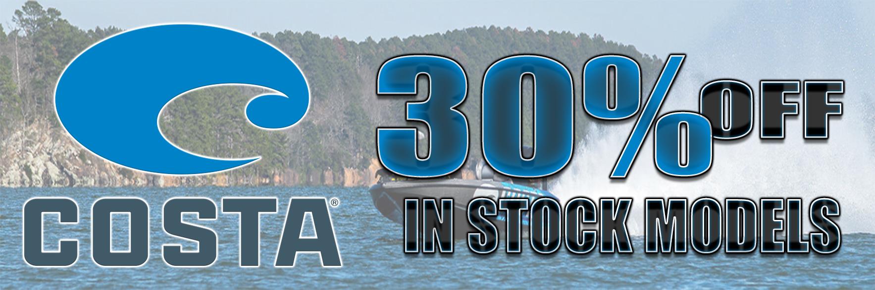 30% Off Costa Del Mar Sunglasses