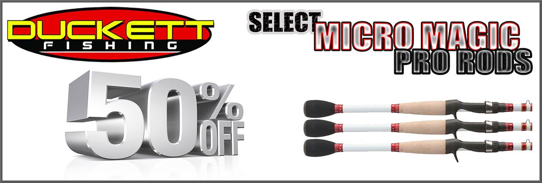 Duckett Micro Magic 50% Off