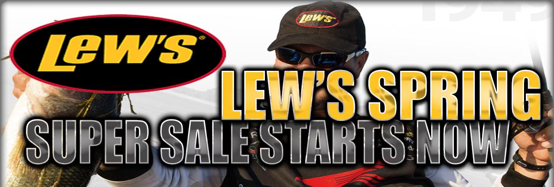 Lew's Spring Super Sale - Fishing Reels