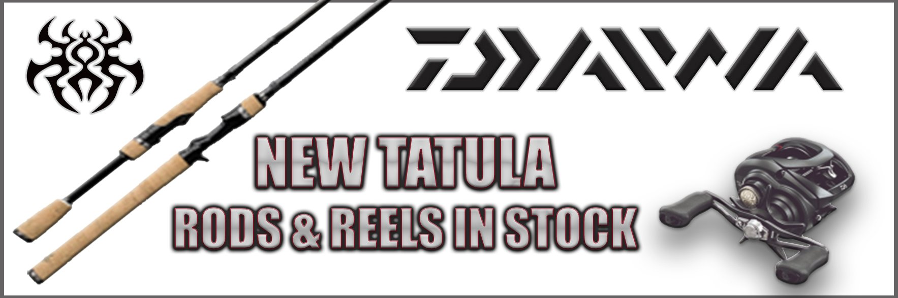 2018 New Daiwa Tatula Rods & Reels - 7'4 - Regular