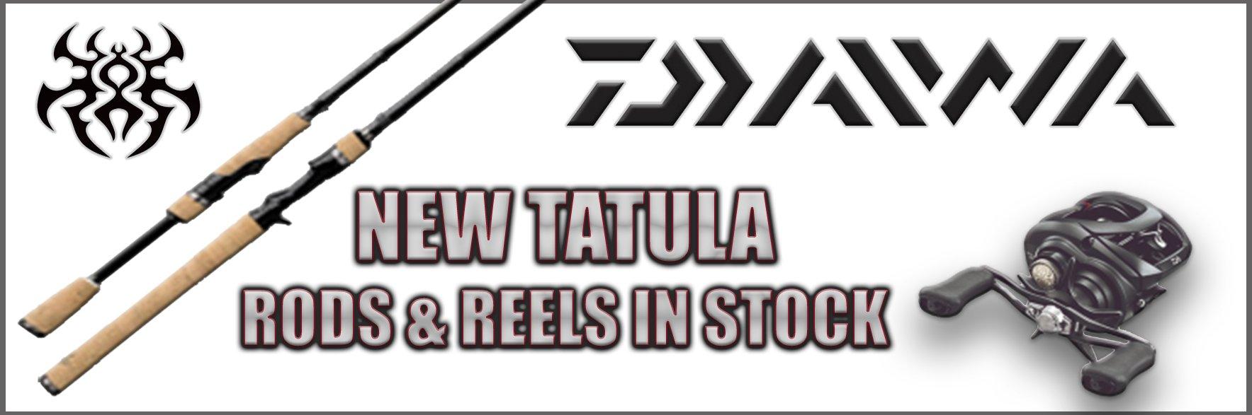 2018 New Daiwa Tatula Rods & Reels - Regular - Medium Heavy