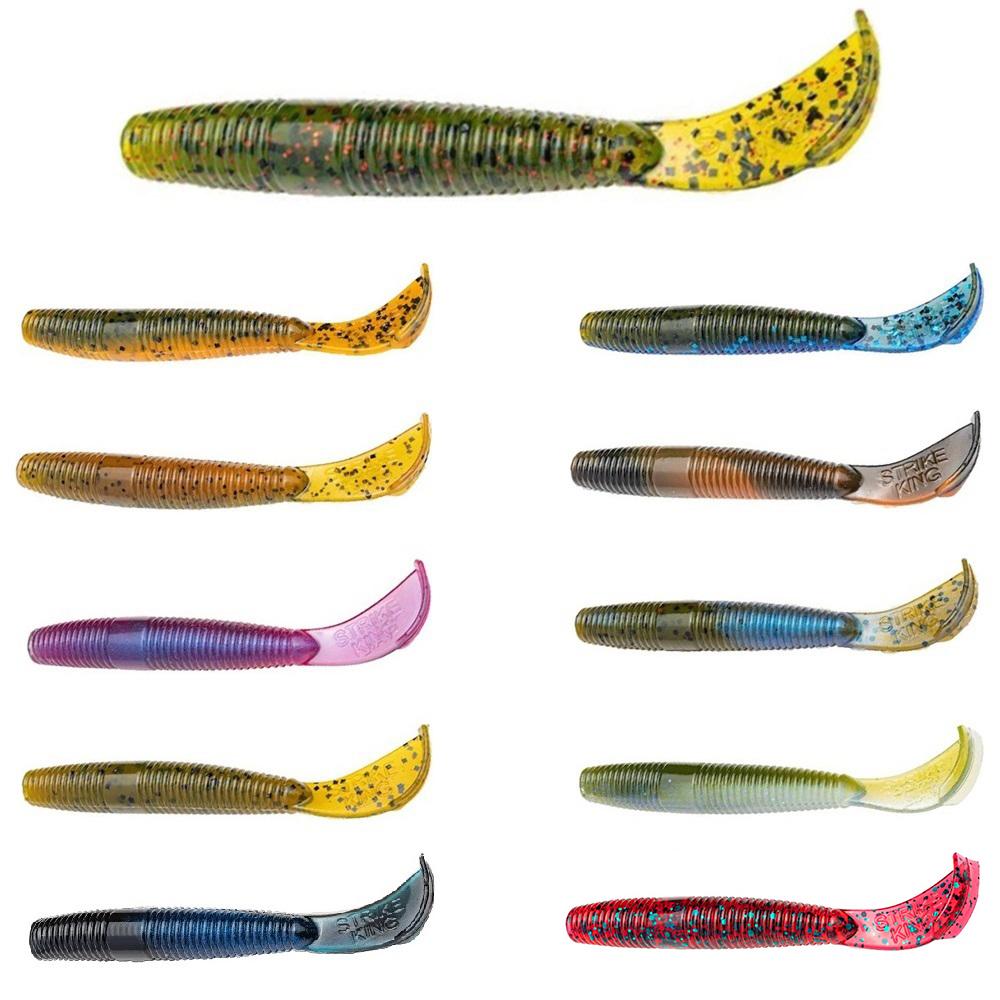 Strike King Rage Cut-r-worm Hard Candy 7in 6pk for sale online