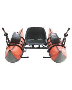 Outcast Sporting Gear Fish Cat Streamer XL-IR Inflatable Pontoon Boat Orange