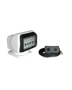 GoLight 20204 Permanent RadioRay LED Searchlight w/ Dashmount Wired Remote