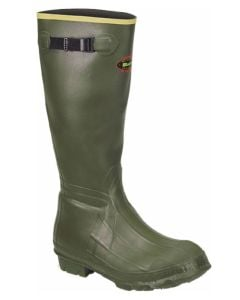 Lacrosse Burly Rubber Boots Od-Green 18in Foam Insulated