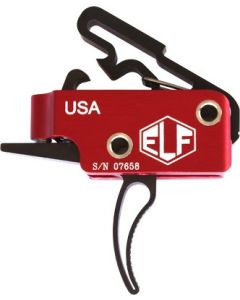 Elftmann Trigger AR-15 3-Gun Curved Adjustable 2.75-4lbs.