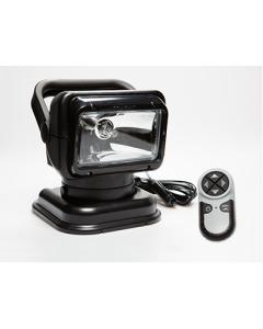 Golight 79514 Portable RadioRay LED w/Magnetic Shoe & Wireless Remote - Black