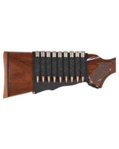 Allen Rifle Cartridge Holder Buttstock-Black