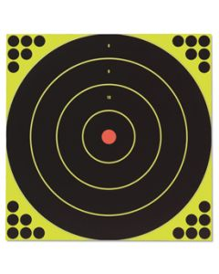Birchwood Casey Shoot-N-See Targets 12in Round  5/Pack