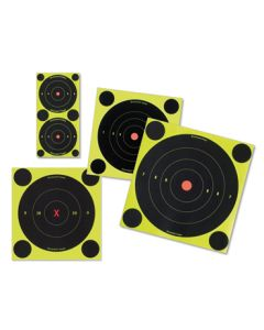 Birchwood Casey Shoot-N-See Targets 6in Round  12/Pack