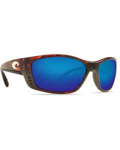 Costa Del Mar Fisch Blue Mirror Glass - W580 Tortoise Frame