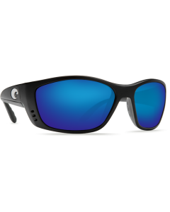 Costa Del Mar Fisch Blue Mirror Glass - W580 Black Frame