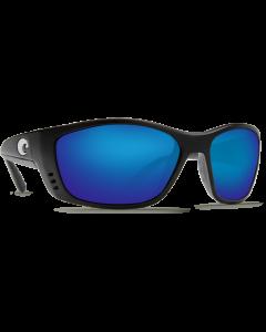 Costa Del Mar Fisch Blue Mirror 580P Black Frame