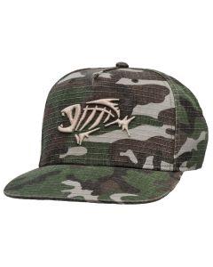 G. Loomis SnapBack Flat Bill Camo Hat