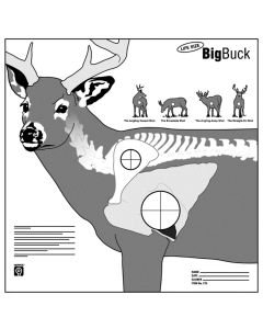 Hoppes Big Buck Targets 5/Pack