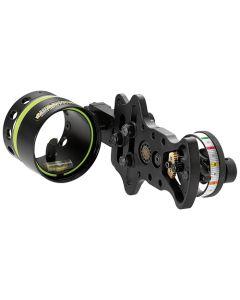HHA Bow Sight Optimizer Lite U 1-Pin .019 Black 6Ft 2In Rheos
