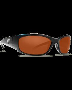Costa Del Mar Hammerhead Copper 580P Shiny Black Frame