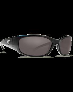 Costa Del Mar Hammerhead Gray Glass - W580 Shiny Black Frame