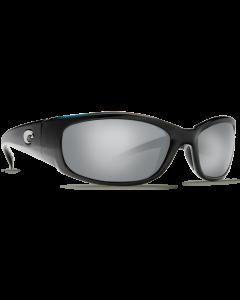 Costa Del Mar Hammerhead Silver Mirror 580P Shiny Black Frame