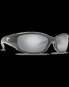 Costa Del Mar Hammerhead Silver Mirror 580P Silver Teak Frame