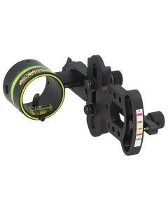 HHA Bow Sight Optimizer Lite 1-Pin .019 Black Left Hand