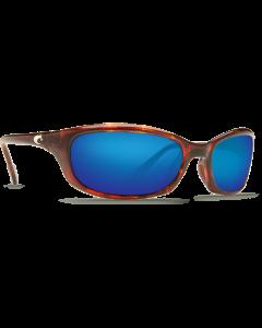 Costa Del Mar Harpoon Tortoise 580G Blue Mirror   HR 10 OBMGLP