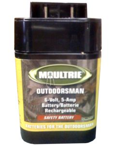 Moultrie Game Feeder Rechargeable 6-V Safety Battery