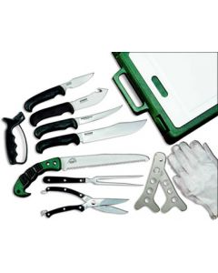 Outdoor Edge Knife Kit Game Procesor 12-pc bx