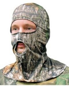 Primos Face Mask Stretch-Fit Full Hood New Breakup Camo Full