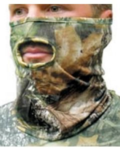Primos Face Mask Stretch-Fit 1/2 Mask  New Breakup Camo 1/2