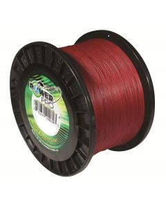 Power Pro 8 lb X 3000 yd Spool Vermillion Red Braided Line