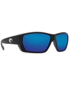Costa Del Mar Tuna Alley Matte Black 580G Blue Mirror   TA 11 OBMGLP