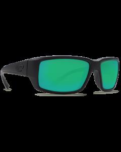 Costa Del Mar Fantail Green Mirror 580P Blackout Frame