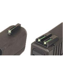 Truglo Tritium Handgun Sight Glock Low  Green