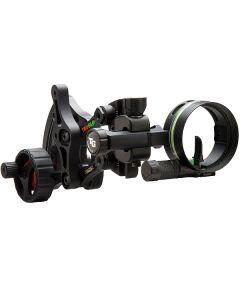 Truglo Bow Sight W/ Light Range Rover Ac Wheel Blk .019