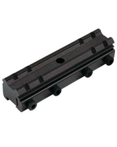 Truglo Scope Mount Adaptor 3/8in To Weaver Style  Black