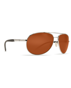 Costa Del Mar Wingman Copper Glass - W580 Palladium Silver Frame