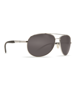 Costa Del Mar Wingman Gray Glass - W580 Palladium Silver Frame