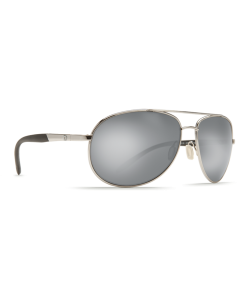 Costa Del Mar Wingman Silver Mirror 580P Palladium Silver Frame