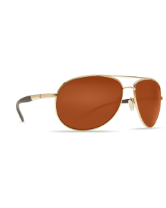 Costa Del Mar Wingman Copper 580P Gold Frame