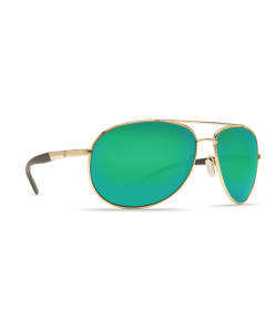 Costa Del Mar Wingman Green Mirror 580P Gold Frame