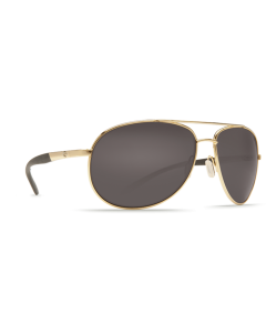 Costa Del Mar Wingman Gray 580P Gold Frame