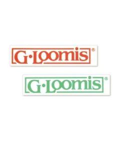 "G. Loomis Block Logo Decal 8"""