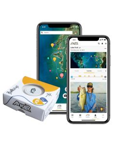 ANGLR Bullseye Fishing Tracker with Apparel Clip and Free Fishing GPS App