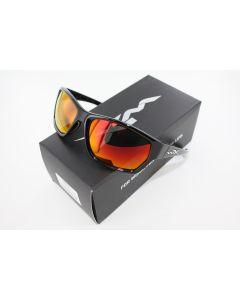 Wiley X Moxy Polarized Sunglasses Crimson Mirror / Glass Black Frame SSMOX05