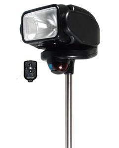 Golight 2151 Portable Gobee Stanchion Mount Bow Light w/Wireless Remote Black