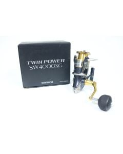 Shimano Twin Power Saltwater TP4000SWBXG 6.2:1 - Used Spinning Reel - Excellent Condition