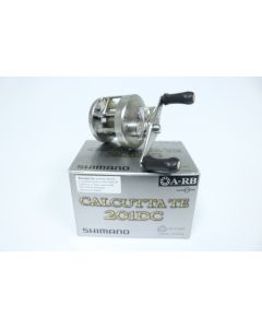 Shimano Calcutta TE 201DC CTE-201DC 5.0:1 LEFT HAND - Used Casting Reel - Good Condition