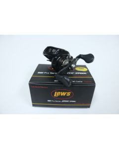 Lew's BB1 Pro PS1SHZL 7.1:1 LEFT HAND Casting Reel - USED - EXCELLENT CONDITION w/ BOX